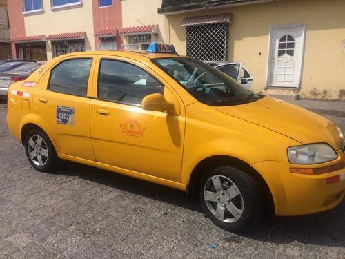 vendo taxi chevrolet aveo 2011