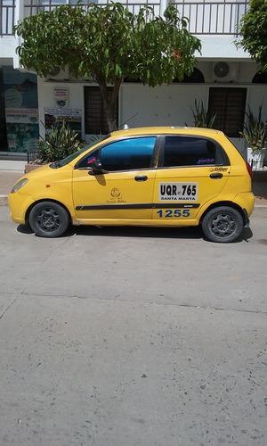 vendo taxi en santa marta chevrolet spark con cupo