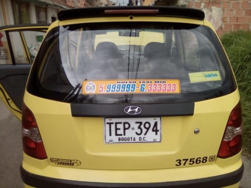 vendo taxi hiunday atos 2012 ganga