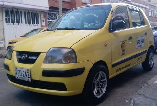 vendo taxi hyundai atos 2010 gas-gasolina