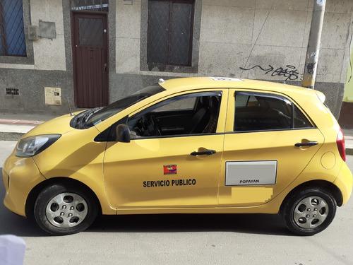 vendo taxi kia ekotaxi 2016 popayan negociable