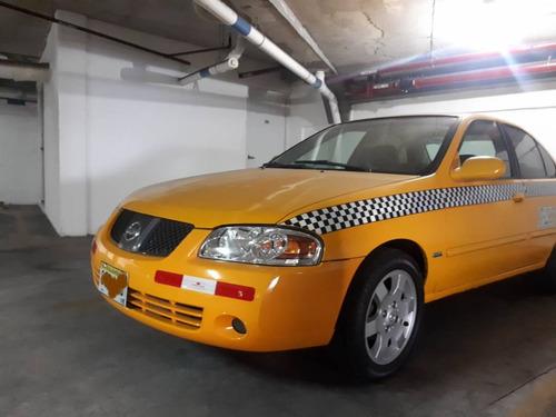 vendo taxi nissan sentra b15 con cupo. listo para trabajar.
