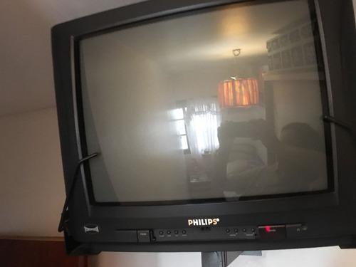 vendo televisor philips 21 pulgadas con control remoto
