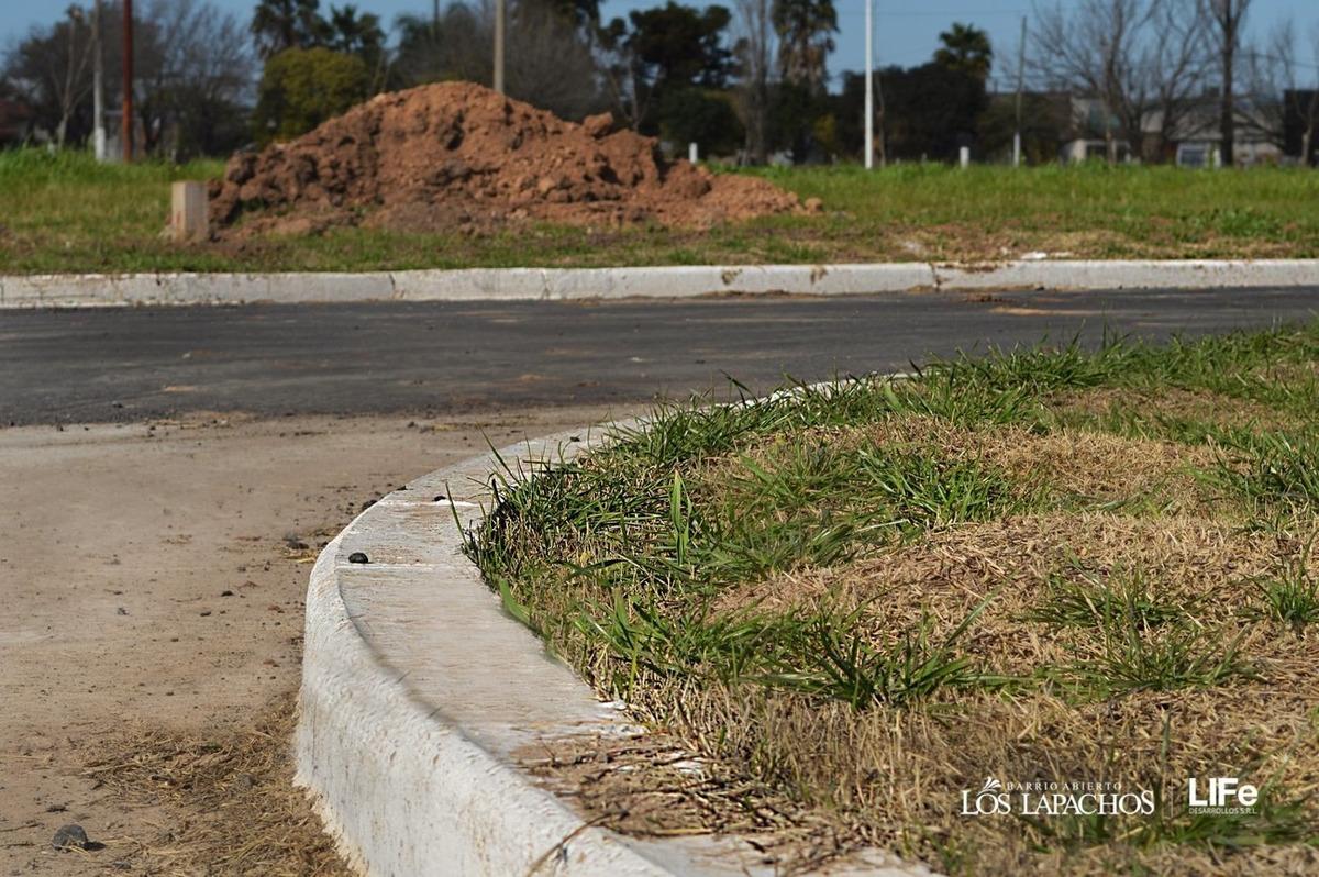 vendo terereno de esquina en perez - sobre avenida principal todo asfaltado
