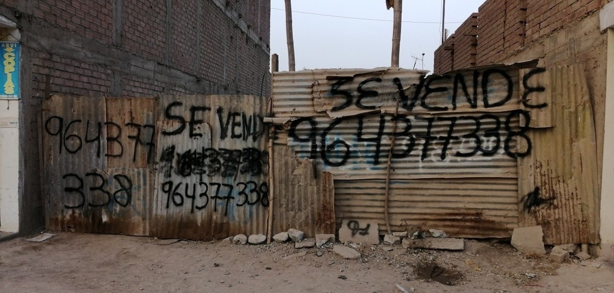 vendo terreno 140 m2-santo domingo de copacabana-puente pied