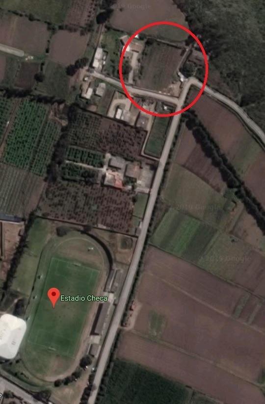 vendo terreno 2700 m2 en checa