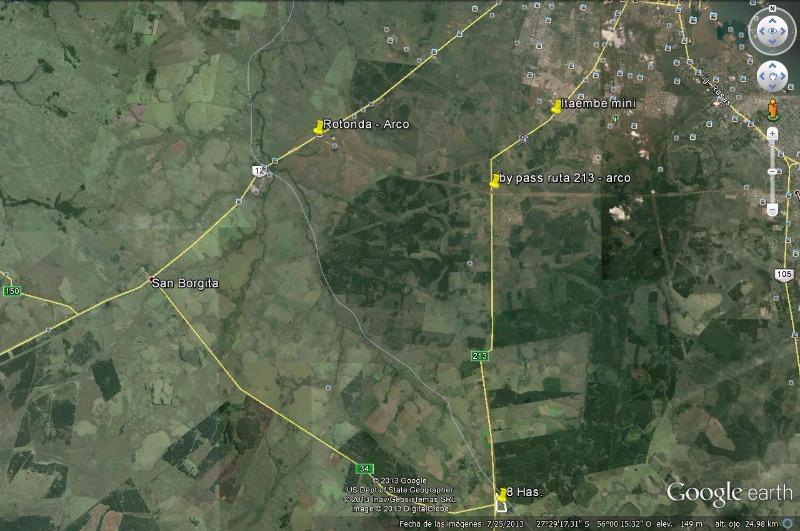 vendo terreno a 8 km del by pass ref-319218 yvb