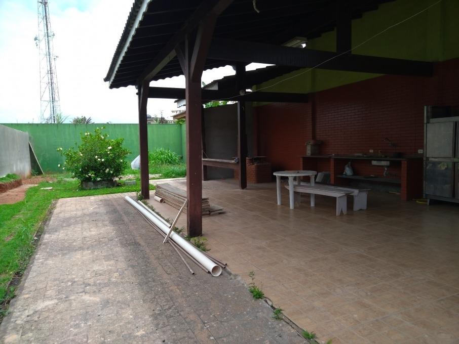 vendo terreno com 500 ms²,  área gourmet construída e banheiro - 358