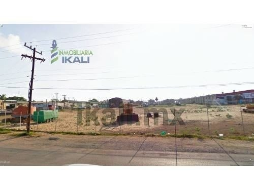 vendo terreno comercial 3816.66 m² col. miramar altamira tamaulipas sobre la carretera cd.l mante, frente al distribuidor vial de la carretera 80 (tampico - altamira) y carretera 70 d (emiliano zapat