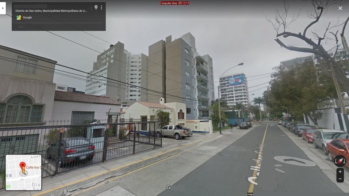 vendo terreno de 1312 m2 en san isidro