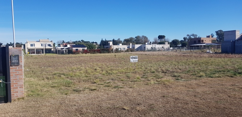 vendo terreno en barrio privado nuevo horizonte general pico