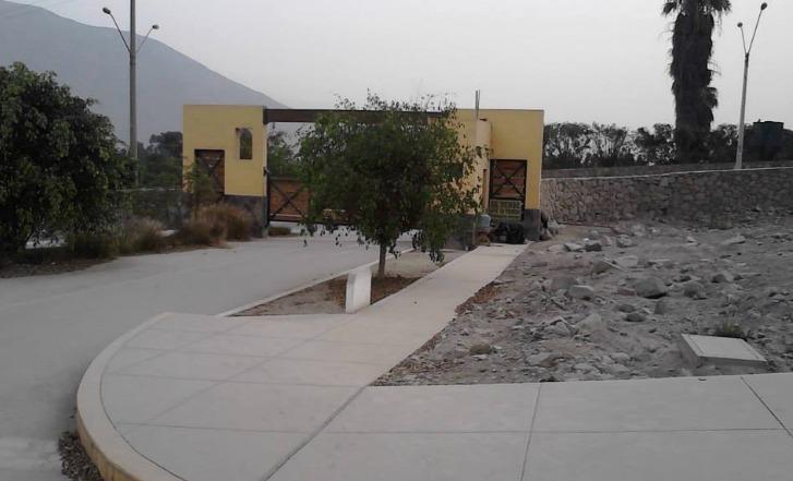 vendo terreno en codominio el haras de huampani 283 m2