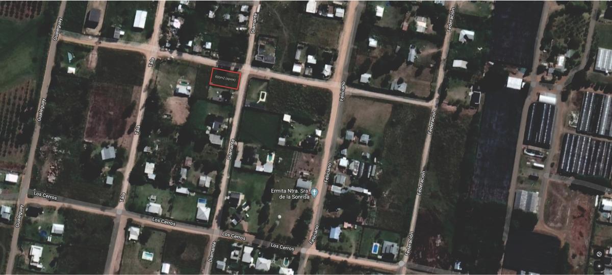 vendo terreno en concordia zona residencial