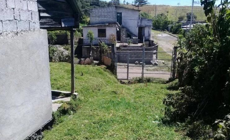 vendo terreno en cutuglagua con casa de una planta de loza