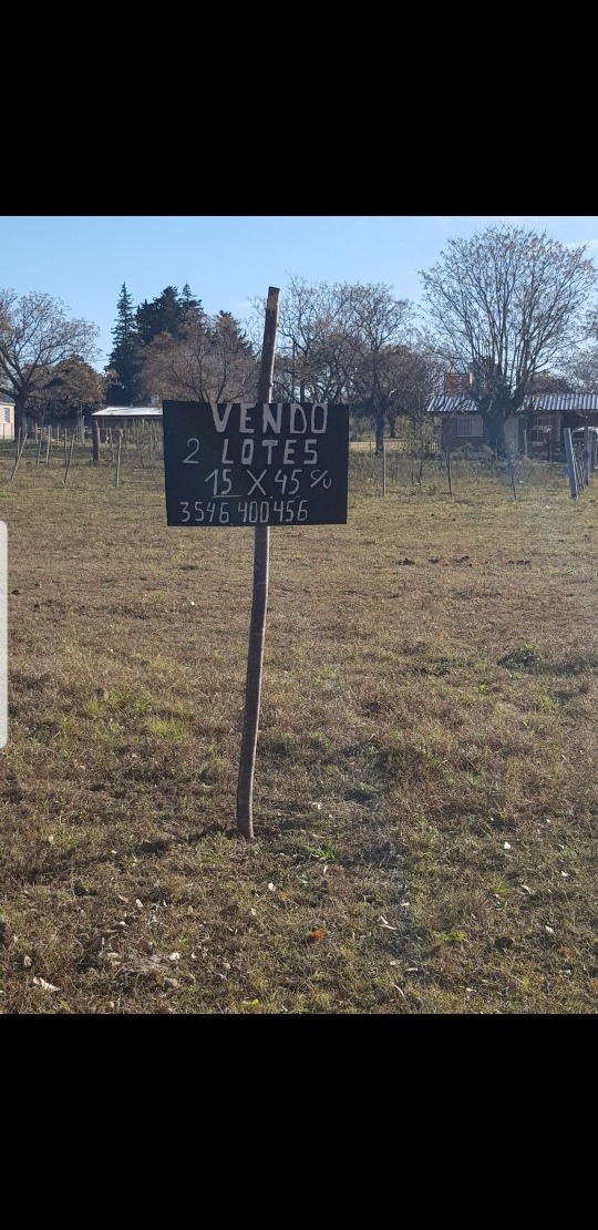 vendo terreno en villa amancay calamuchita córdoba