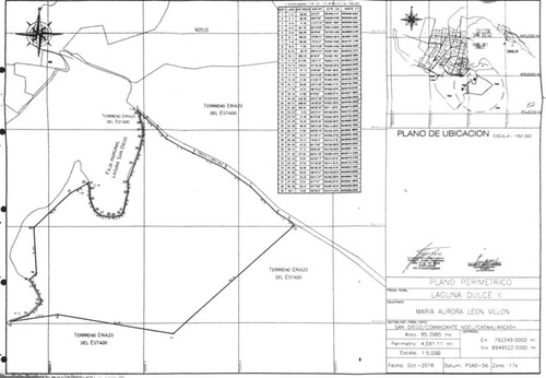 vendo terreno eriazo de 85 hectareas