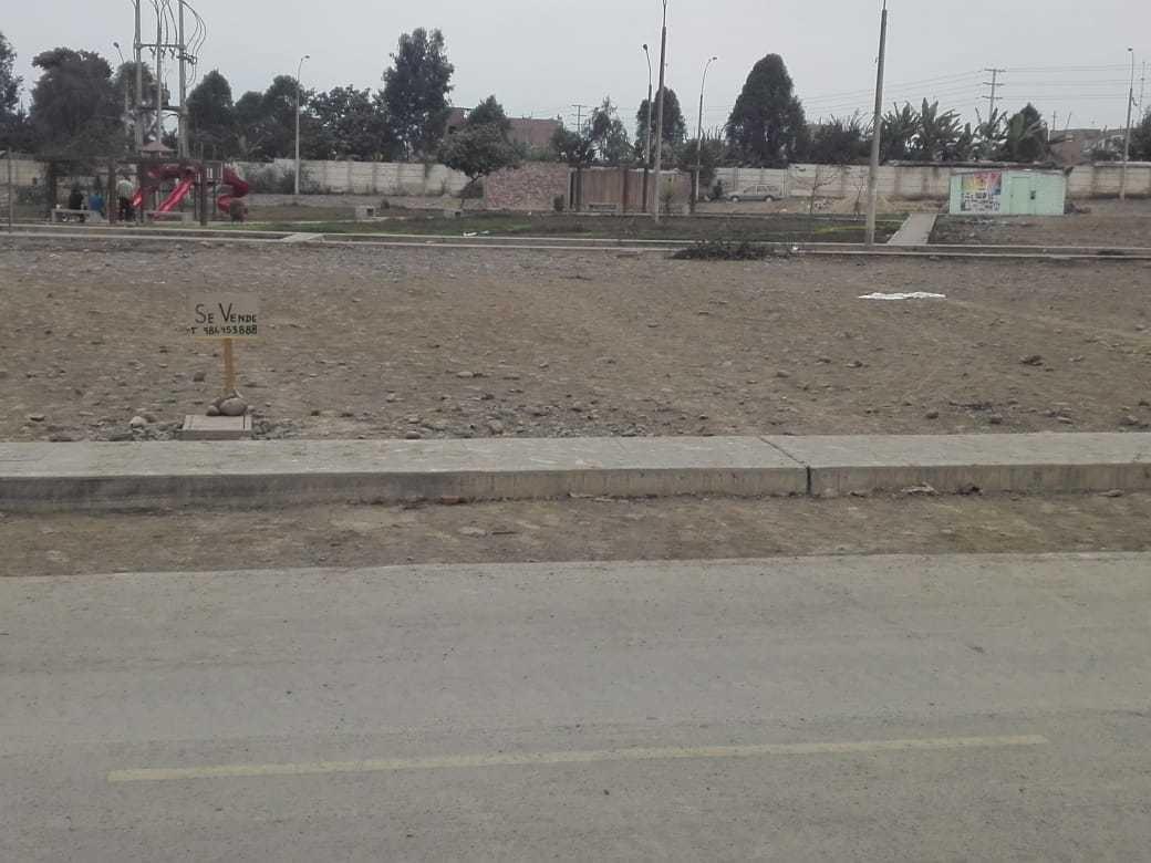 vendo terreno frente a parque urb esmeralda 1 - carabayllo