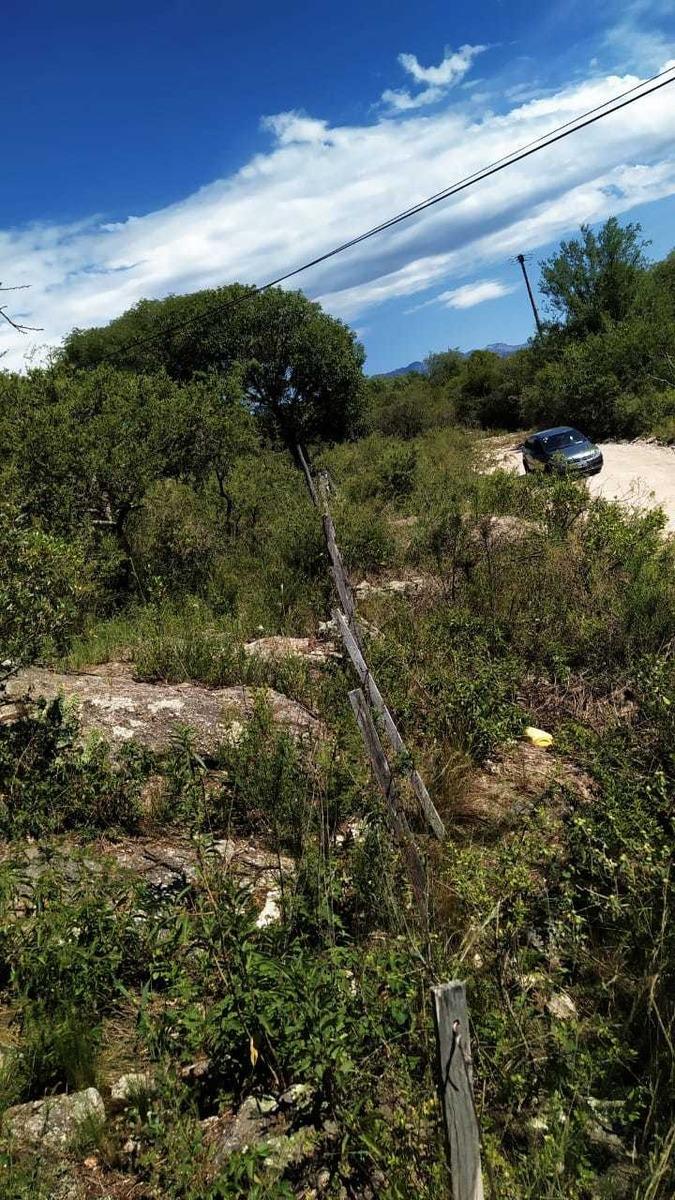 vendo terreno mina clavero