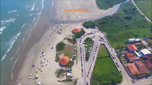 vendo terreno no gaivota lado praia  em itanhaém litoral sp
