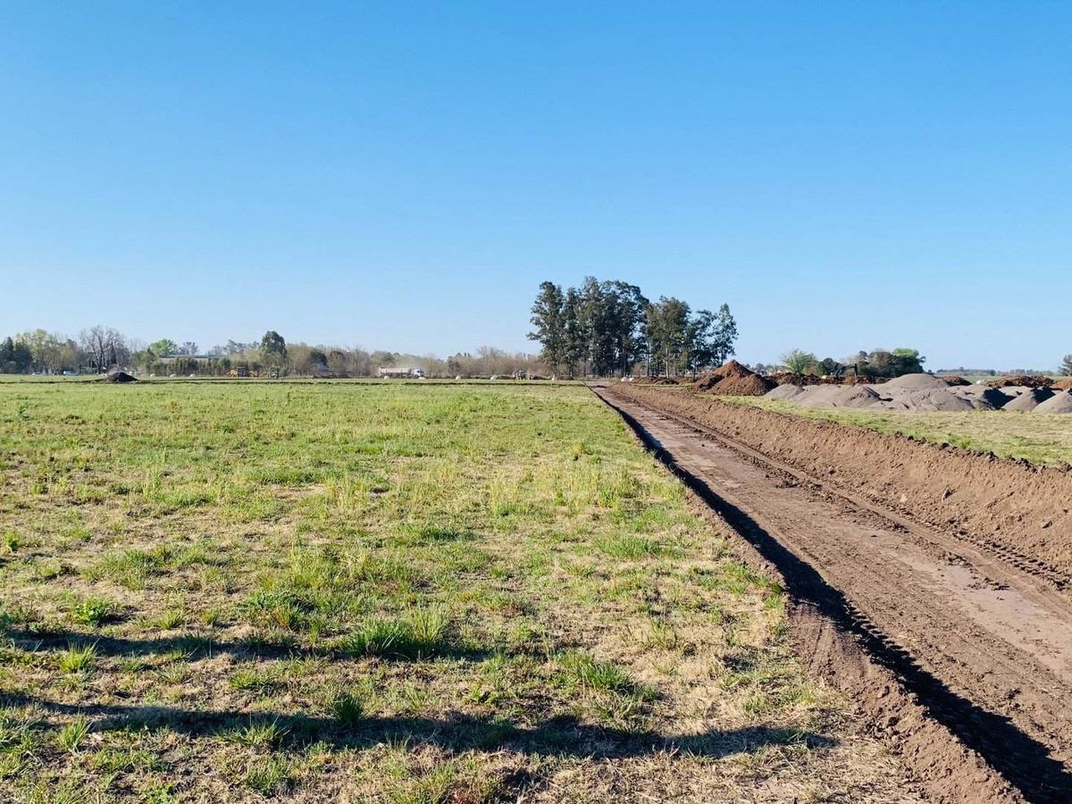 vendo terreno sobre ruta 18 - ecovida lote de 300 m2