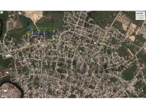 vendo terreno tuxpan veracruz se encuentra ubicado en la calle rufino bermejo en la colonia olímpica, son 300 m² de frente cuenta con 12 m. a la calle y de fondo con 25 m, en la cumbre de un cerro co