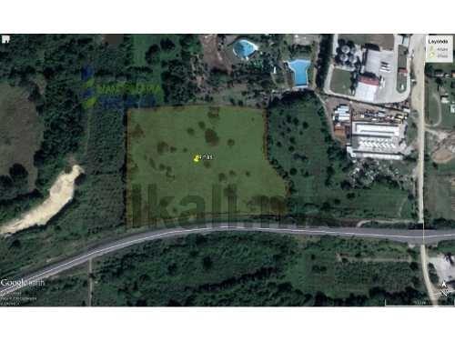 vendo terreno zona industrial en libramiento portuario tuxpan veracruz 4 has. terreno de 40,000 m² se encuentra ubicado en libramiento portuario que lleva a la zona industrial al sur del río tuxpan c