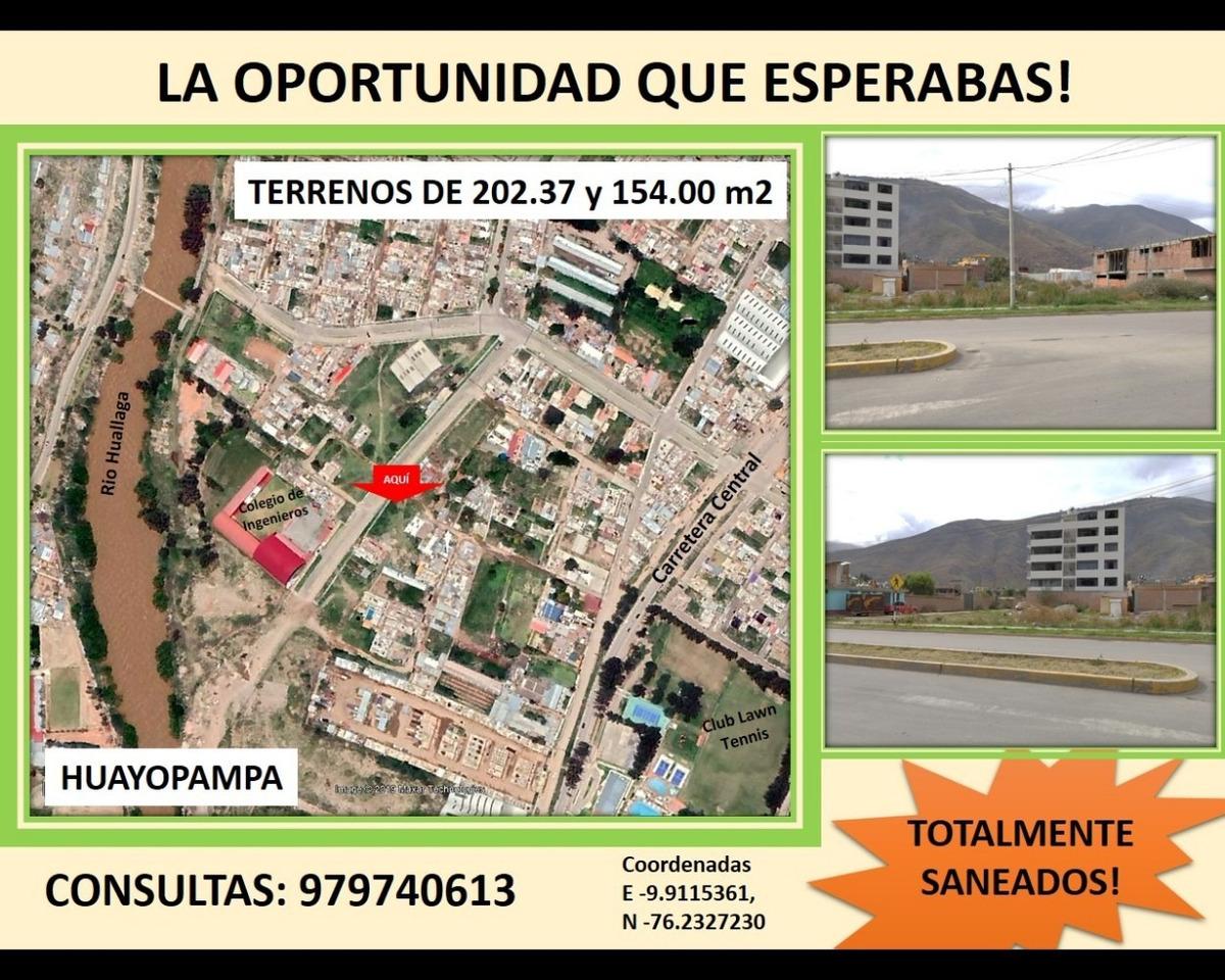 Vendo Terrenos En Huanuco Ciudad Del Mejor Clima Del Mundo