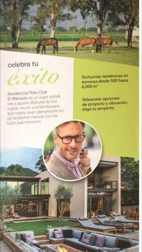 vendo terrenos en polo club qro. desde $3,130,000.00 hasta $7,500,000.00