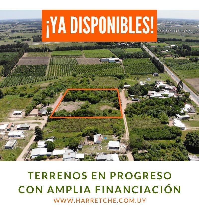 vendo terrenos en progreso ¡dueño financia!