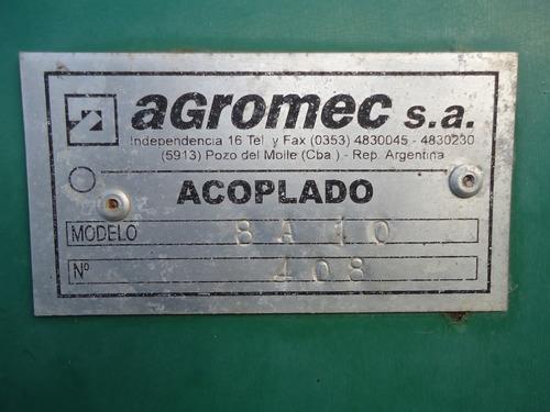 vendo tolva agromec de 10 toneladas en excelente estado.