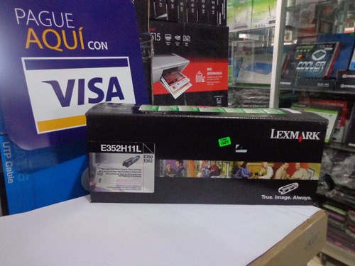 vendo toner lexmark e352h11l para e350/e352 black