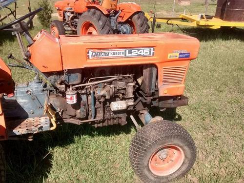 vendo tractor kubota l245 3 cilindros viñatero