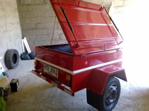 vendo trailer con tapa inmaculado