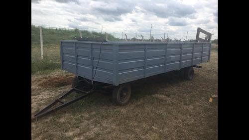 vendo trailer dual recibo permuto ( 2.40 por 6 mtrs)