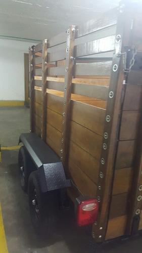 vendo trailer nuevo para 2 caballos suspension independiente