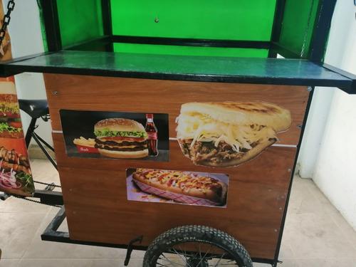vendo triciclo comidas rapidas