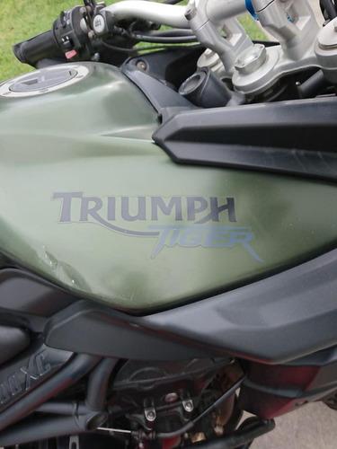 vendo triumph tiger 800 xc 2012 9/10 37,000 km $9,000 usd