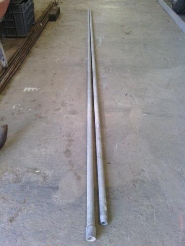 vendo tubo galvanizado de 3/4 de 6 mts.