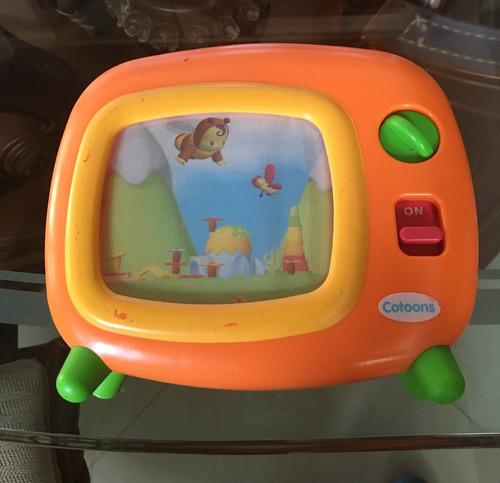 vendo tv de bebé musical cotoons