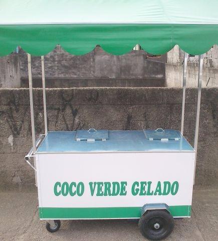 vendo um carrinho de agua de coco r$700,00 de desconto