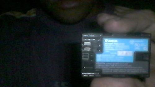 vendo uma bateria de camera original marca conon
