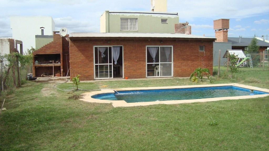 vendo urgente quincho con piscina + casa a terminar en ts2
