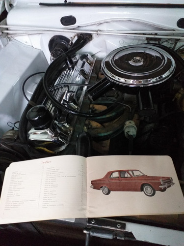 vendo valiant iii  mod 1965 c/ manual de usuario