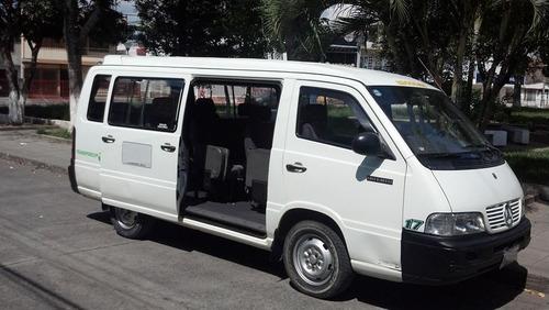 vendo van 16 pasajeros, microbus, mercedes benz, año 2001