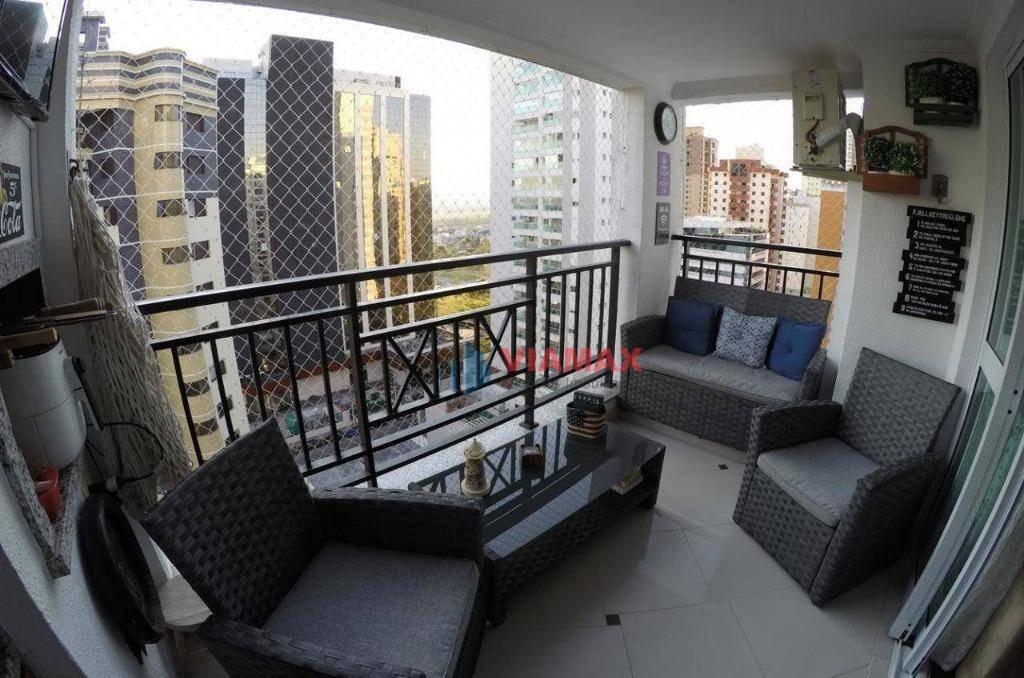 vendo!!! vert vita - semi mobiliado -  lindo apartamento - 108m² - jardim. aquarius - venda  - 600 mil reais - ap2241