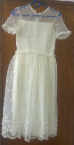 vendo vestido de comunión usado
