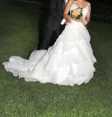vendo vestido de novia punto clave