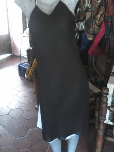 vendo vestido en chifon reversible  talla m  lucent importad
