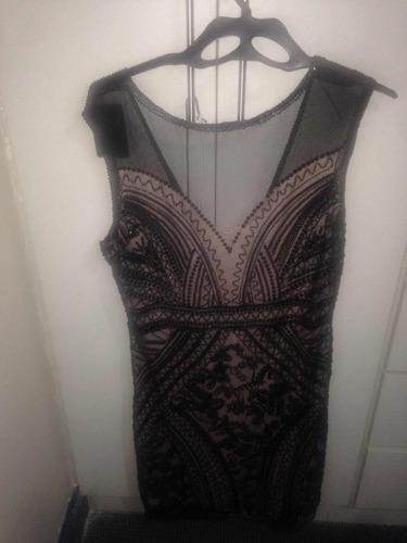 vendo vestido nuevo de fiesta  talla l . vendo