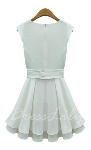 vendo vestido off white